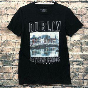 Dublin Ha'Penny Bridge Ireland Shirt Small